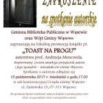 Zaproszenie na spotkanie prof. A.Mencwel - druk A4-1